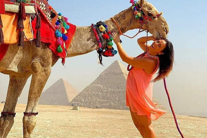 Day trip to Egyptian museum,pyramids of Giza&citadel of Saladin.