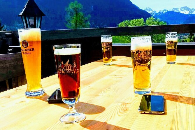MY*GUiDE EXCLUSiVE Bavarian Beer Tasting Tour 'LAKES & MOUNTAiNS' from Munich