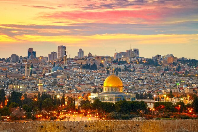 7-Night Israel Highlights and Biblical Tour: Jerusalem, Bethlehem, Nazareth, Galilee and Optional Dead Sea Day Trip