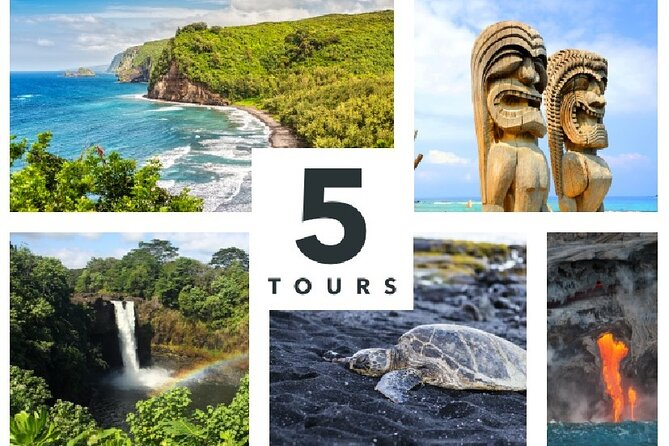 Big Island Adventure Bundle: 5 Epic Audio Driving Tours