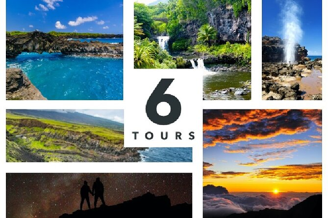 Maui Adventure Bundle: 6 Epic Audio Driving Tours, Including Road to Hana