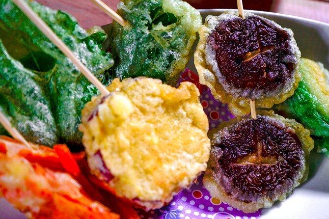 Online Experience in Making Crispy Golden Vegetarian Tempura
