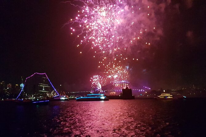 New Years Eve Tall Ships Dinner Cruise on Sydney Harbour