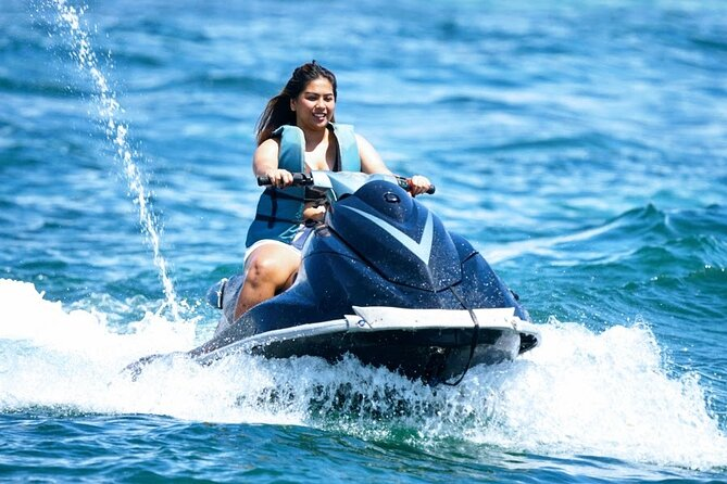 Drive Your Own Jet Ski Without An Instructor With Private Hotel Transfer