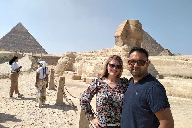 Giza Pyramids Sphinx Camel Ride Lunch Koshry from Cairo Giza Hotels