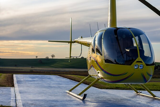 Barossa Valley Deluxe: 30-Minute Helicopter Flight