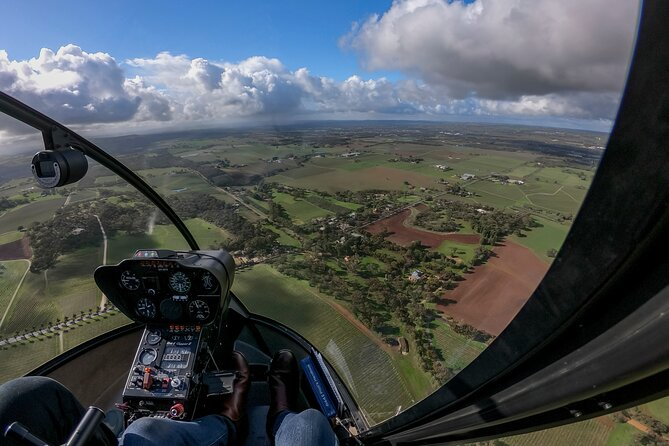 Southern Barossa & Tanunda: 20-Minute Helicopter Flight