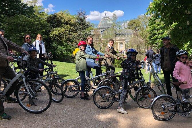 Visite à vélo électrique du parc du Retiro de Madrid
