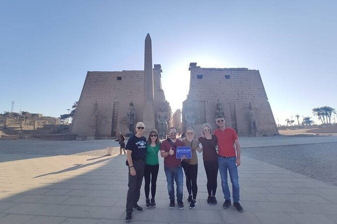 Full Day Private Tour: West & East Bank of Luxor From Luxor Airport.
