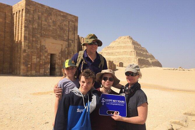 Giza Plateau, Memphis, and Saqqara: Private Full-Day Tour