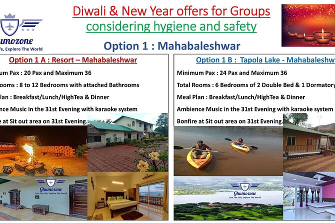 Diwali and New Year Package