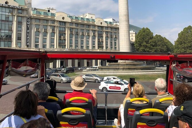 City tour Tbilisi on red bus