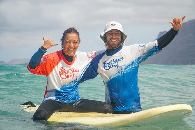 Surf Lesson for Beginners in Famara: Introduction in Surfing