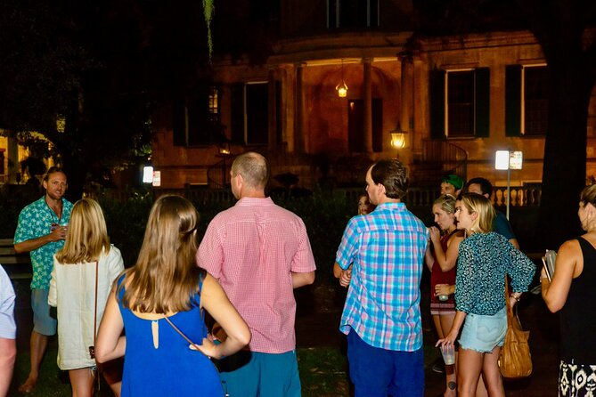 Savannah Ghost Tour for Adults with Alcoholic Drinks Included
