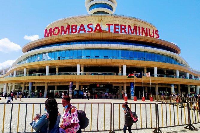 Train tickets and transfer from Nairobi to mombasa