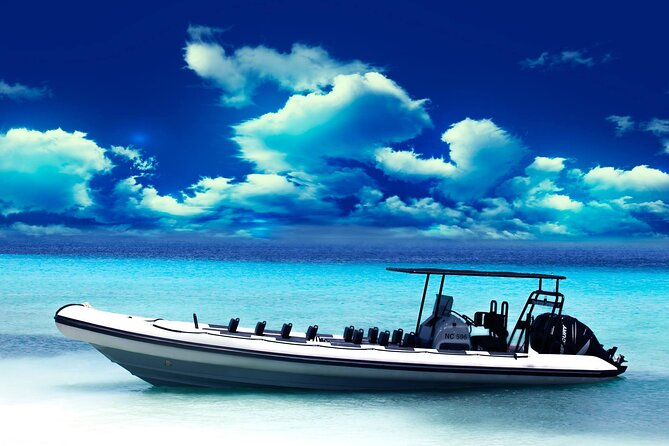 2,5 hr Snorkel & Sightseeing Powerboat adventure