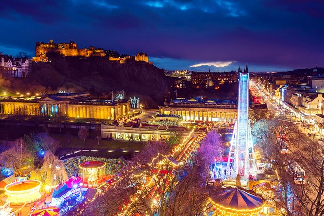 Private 6-Day Christmas Tour in Scotland and Edinburgh