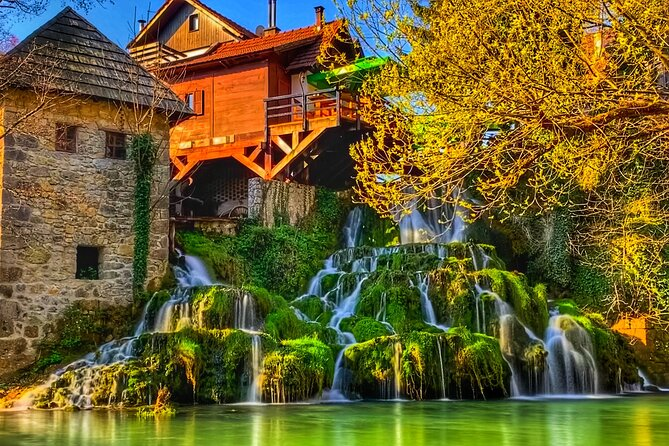 From Zadar to Plitvice Lakes with drop off in Zagreb - Private tour