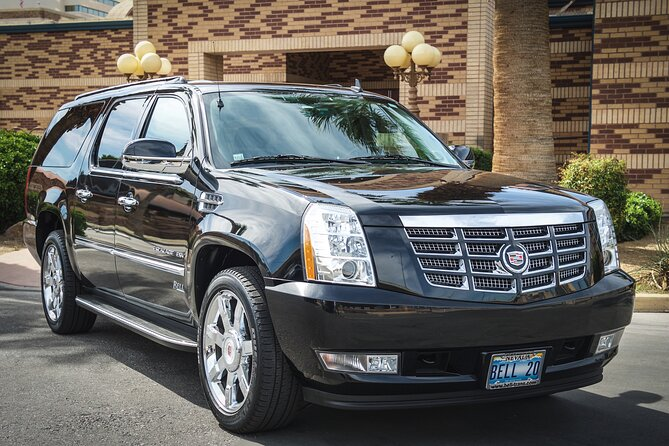 Private One Way Transfer from McCarran Airport to Las Vegas Strip Hotels by SUV
