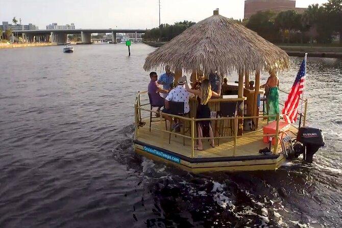2-hour Tiki Boat BYOB Cruise in Tampa