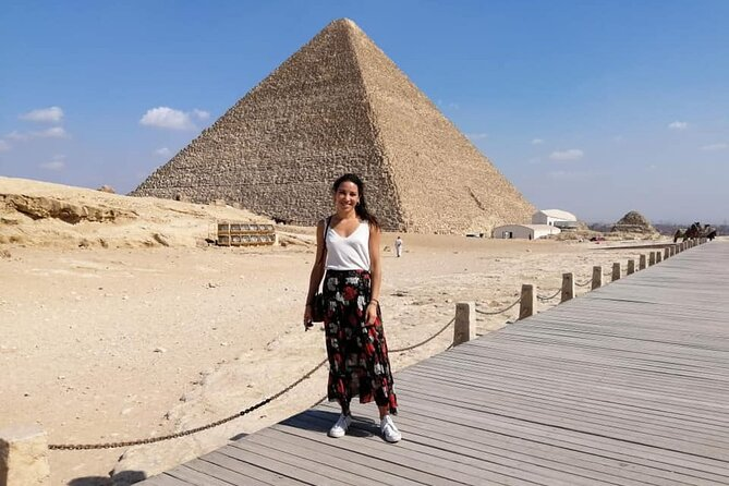 Full-Day Giza Pyramids and Cairo Tour from Cairo Airport