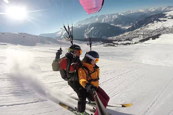 Private Speedriding Tandem Experience in Switzerland