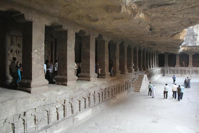 Ajanta und Ellora Höhlen