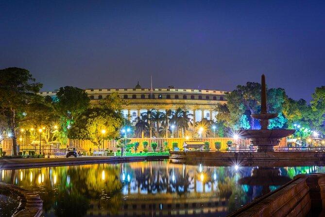 Parlamentsgebäude in Neu-Delhi (Sansad Bhavan)