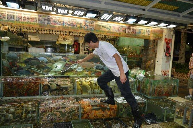 Lei Yu Mun Meeresfrüchte-Basar