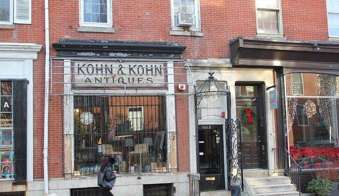Historic Antique Row in Philadelphia