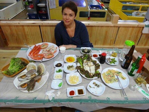 Mercato turistico e della pesca di Sokcho (mercato di Jungang)