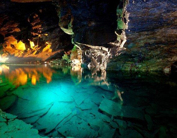 Cavernas de pizarra Llechwedd