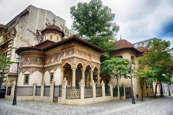 Stavropoleos Monastery (Manastirea Stavropoleos)