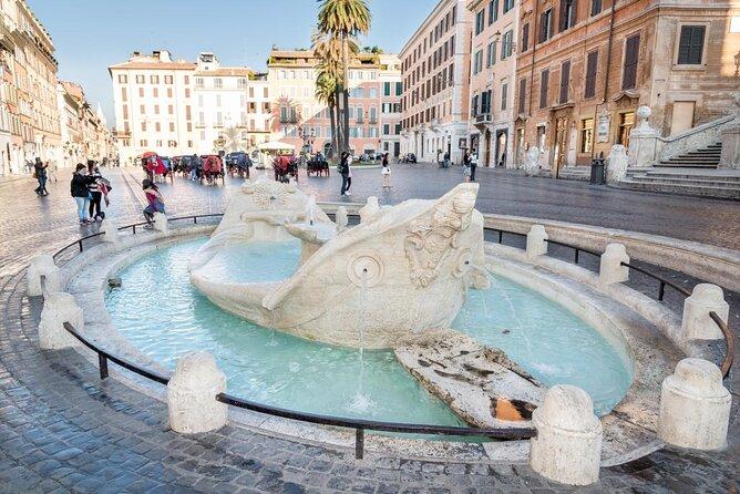 Barcaccia Fountain (Fontana della Barcaccia)