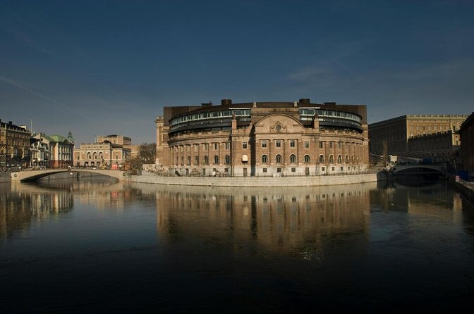 Le Parlement de Stockholm (Riksdagshuset)