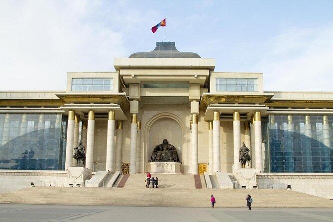 Sükhbaatar Square (Genghis Khan Square)