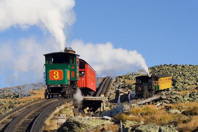 Mt. Washington Cog Railway (Das Zahnrad)