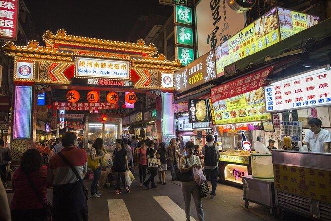 Mercato notturno di Raohe Street