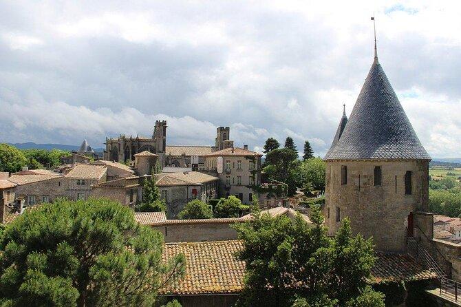 Castello del conte nella cittadella di Carcassonne (Chateau Comtal)