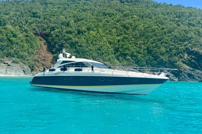 Full-Day Luxury Boat Rental in St. Thomas and St. John Island