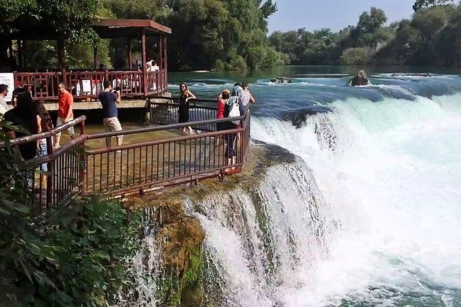 Ancient cities of Side and Aspendos and Manavgat Waterfall from Alanya