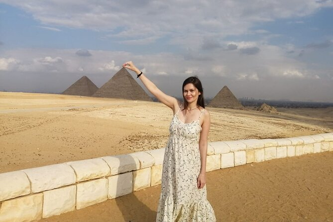 full-day to Giza pyramids, Saqqara ,Memphis and Dahshour true and bent pyramids