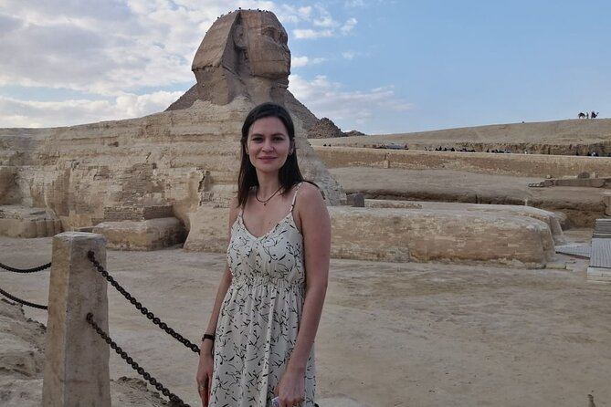 PYRAMIDS OF GIZA AND SPHINX from cairo giza hotels