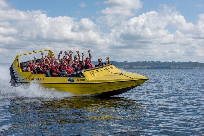 Katoa Jet Boat tour on Lake Rotorua
