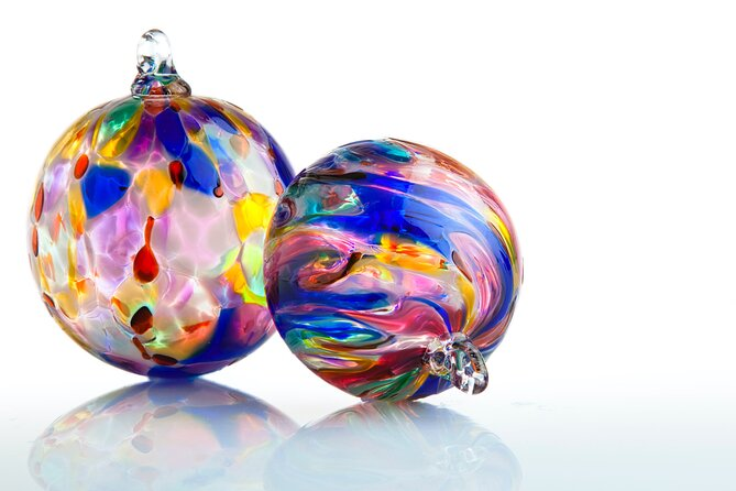 Hands-On Blown Glass Ornament Experience in Naples