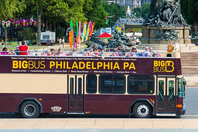 Hop On Hop Off Double Decker Bus Tour of Philadelphia