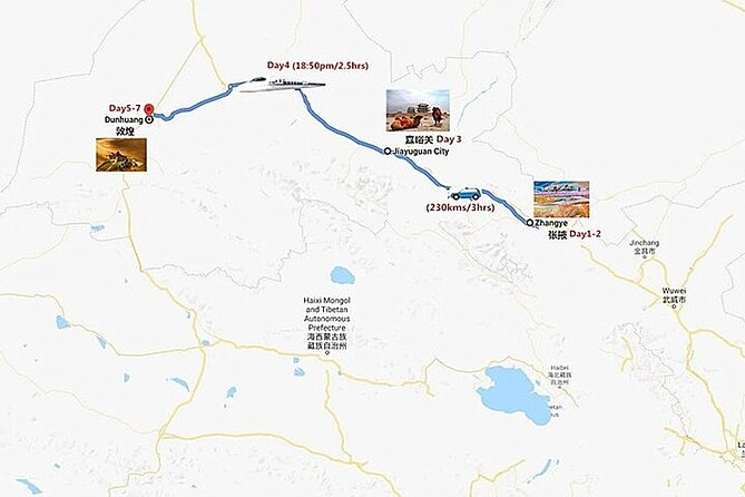 7 Days Hexi Corridor Adventure Tour to Zhangye, Jiayuguan & Dunhuang