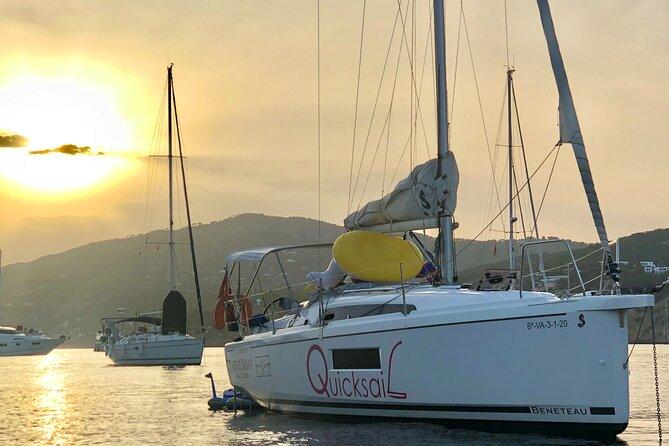 Departure on a Private Sailboat in Valencia