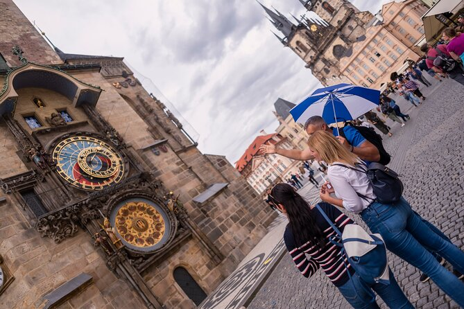 Prague Astronomical Clock Tower: Entry Ticket with Introduction
