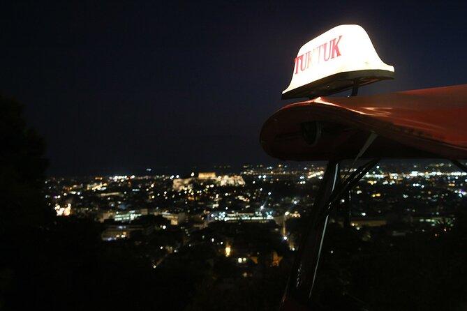Private Athens by Night Tuk-tuk Tour
